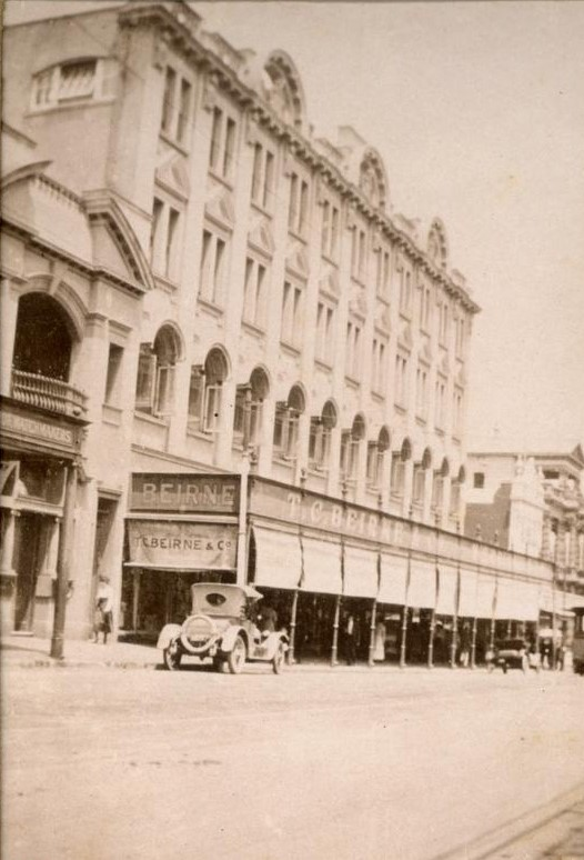 T. C. Beirnes department store in Fortitude Valley, 1919. John Oxley Library, State Library